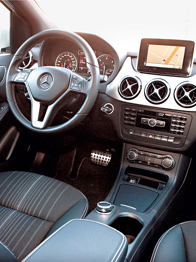Mercedes Benz B180 CDI Blue Efficiency Innenraum