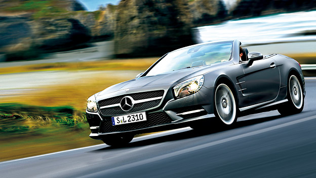 Mercedes-Benz SL350 SL500 Test