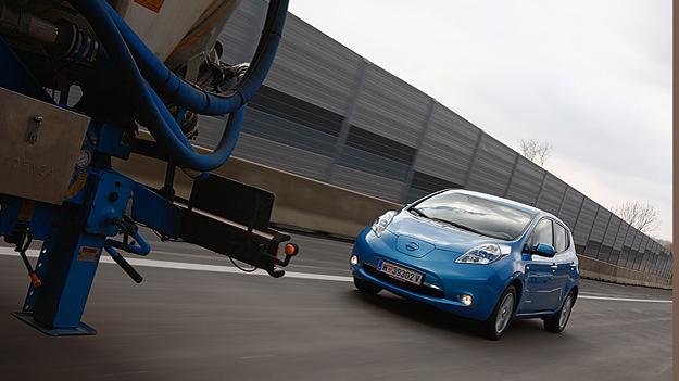 Nissan Leaf im Alltag Test Reichweite