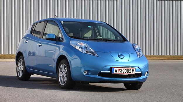 Nissan Leaf Alltag Test