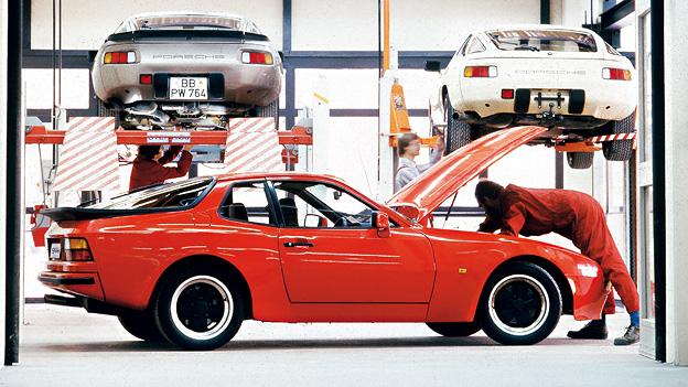 Oldtimer Porsche 944 1981 Das Jahr