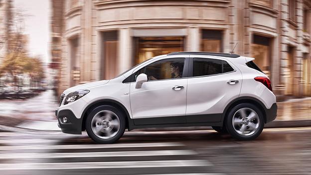 Opel Mokka SUV Seitenansicht