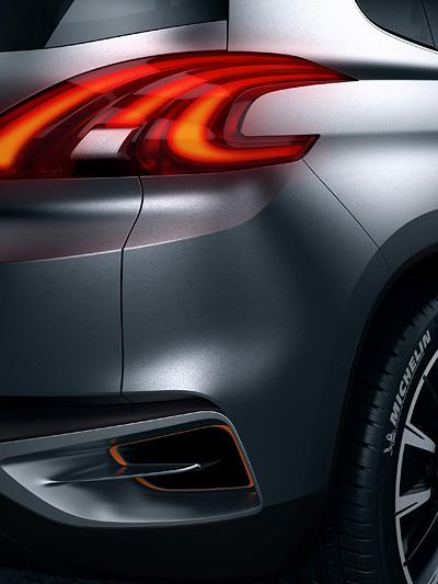 Peugeot Urban Crossover Peking 2012 News Heck Leuchte Scheinwerfer