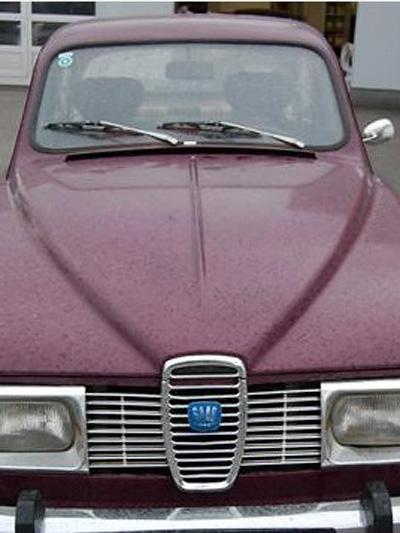 Saab 96 1972 Gebrauchtwagen Restauration restaurieren