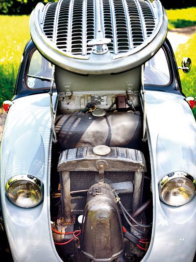 Steyr 55 Baby Oldtimer Test Motor
