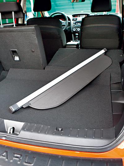 Subaru XV 2,0 D Comfort Test Koferraum