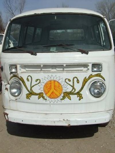 VW Bulli Volkswagen Bus Oldtimer 1977 Gebrauchtwagen Kalifornien USA