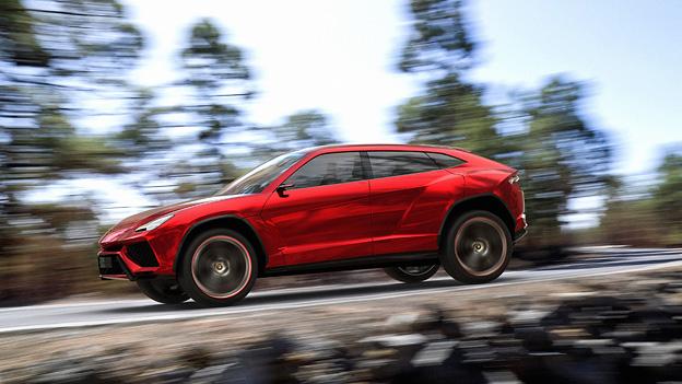 Lamborghini Urus SUV Seitenansicht