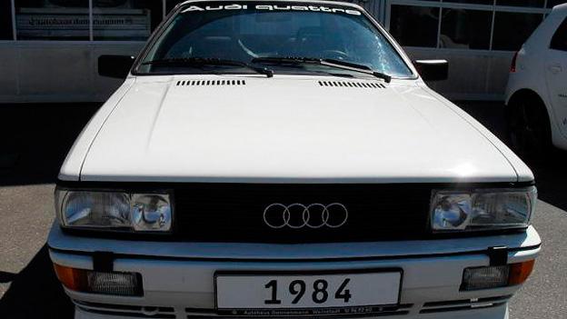 Audi Quattro stat Front