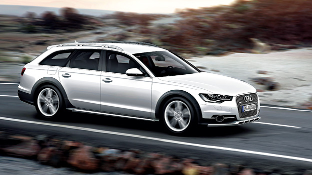 Audi A6 Allroad quattro Seitenansicht