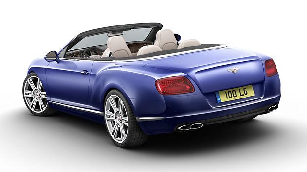 Bentley Continental GTC V8 Cabrio Felge