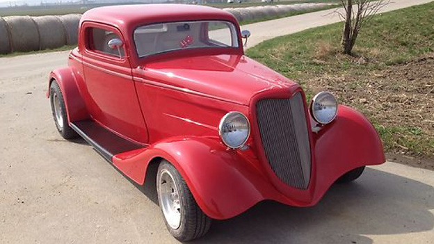 "Hot Rod ""Ford 1934"" Coupe ZZ-Top Hot Rod"