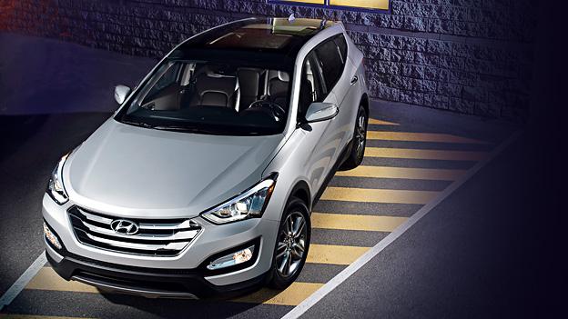 Hyundai Santa Fe Exterieur Front