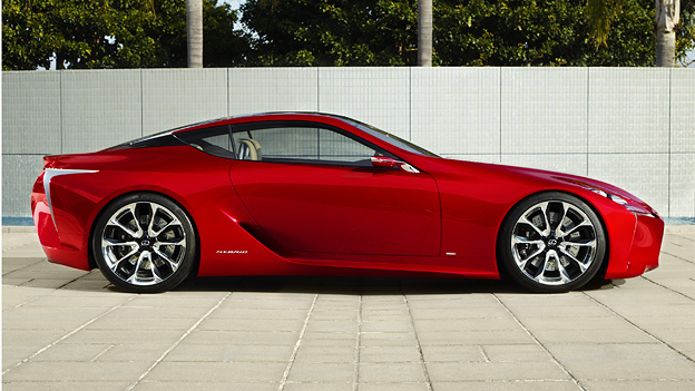 Lexus LF LC Concept Toyota GT 86 Subaru BRZ Hybriantrieb Studie Concept
