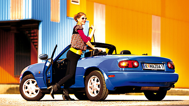 Mazda MX-5 Urlaubsfotos Urlaubsbilder Erinnerungen Urlaub