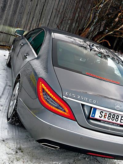 Mercedes Benz CLS 350 CDI 4matic Heck