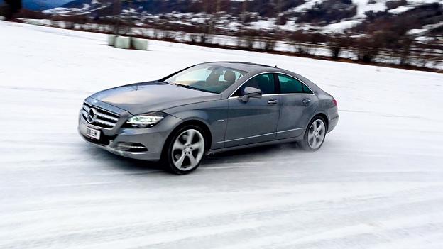 Mercedes Benz CLS 350 CDI 4matic Front