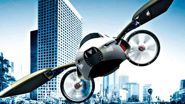 MyCopter das fliegende Auto Zukunft Flugzeug