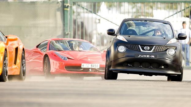Nissan Juke-R Juke R GT-R Dubai