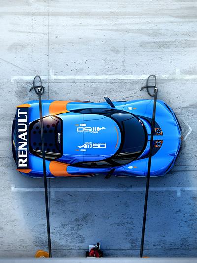 Renault Alpine A110-50 Studie Nissan