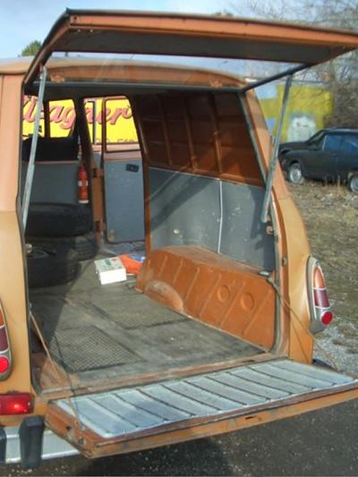 Skoda TAZ S 1203 Oldtimer Gebrauchtwagen Ocelot