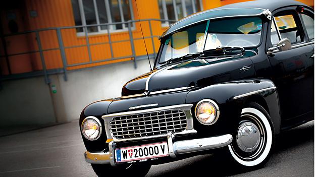 Volvo PV444 Oldtimer 1947 Test Front
