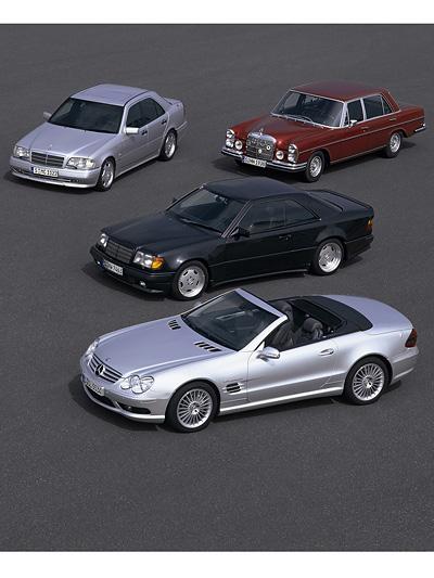 Mercedes Benz AMG 45 Jahre Jubiläum Geburtsag