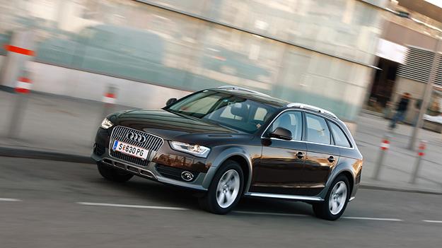 Audi A4 Allroad 2,0 TDI Test Fahrbericht