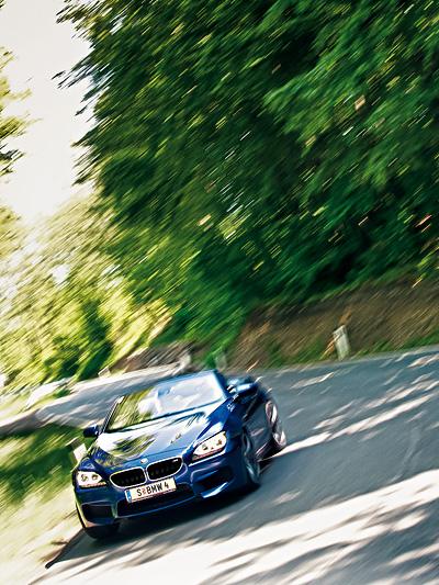 BMW M6 Cabrio Test 6er Offen