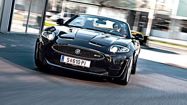 Jaguar XKRS CKR-S Cabriolet Cabrio Sprit sparen