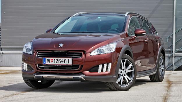 Peugeot 508 RXH Dieselhybrid Disel Hybrid Test Fahrbericht sprit sparen