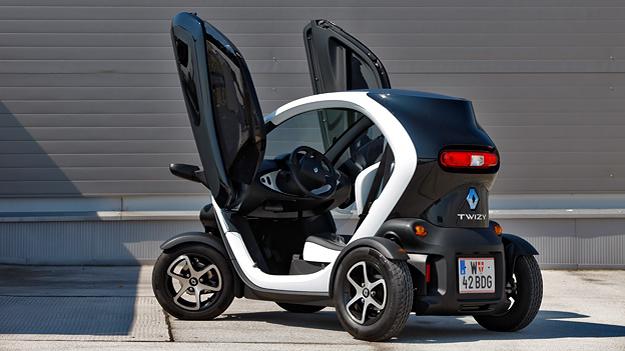 Renault Twizy Elektroauto Reichweite Alltag Test Fahrbericht