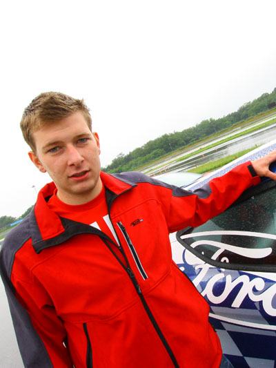 Racing Rookie Andreas Gattringer