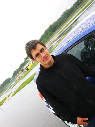 Racing Rookie Wolfgang Käferböck