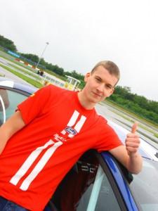 Racing Rookie David Kurz