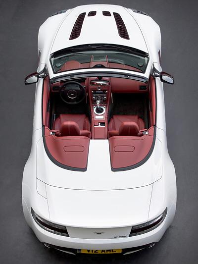 Aston MArtin V12 Vantage Roadster Zwölfzylinder