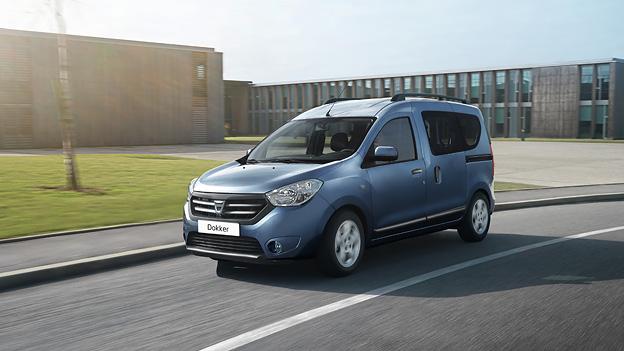 Dacia Dokker Renault Kangoo Kampfreis Van