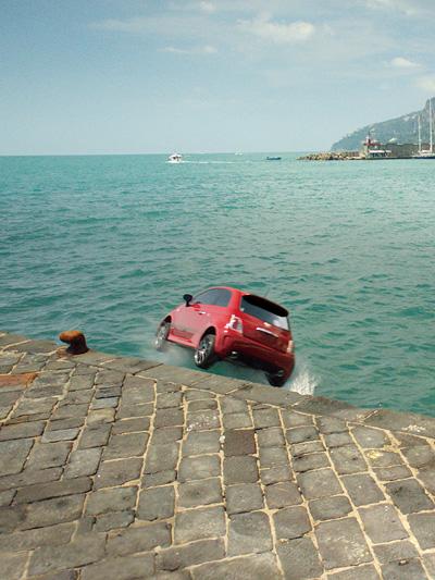 Fiat 500 Markteinführung USA Werbespot Einwanderungswelle Italien