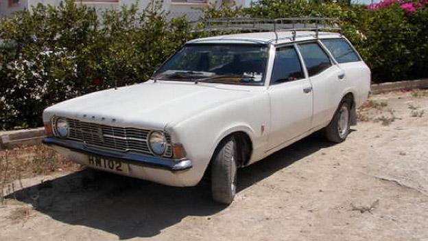 Ford Cortina Kombi Oldtimer Gebrauchtwagen Zypern