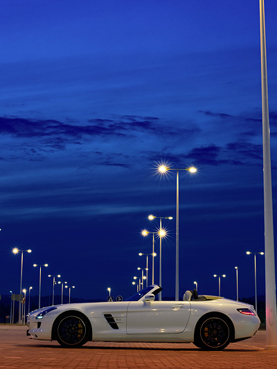 SLS AMG Mercedes BEnz Autoindustrie Entwicklung