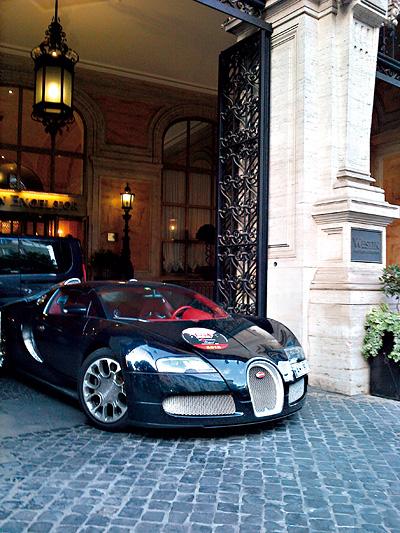 Mille Miglia Christian Rainer profil Bugatti Veyron 1001 PS