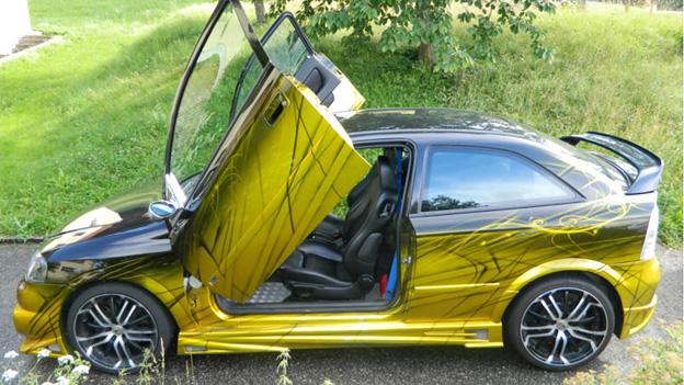 Opel Astra OPC Tuning Flügeltüren Gebrauchtwagen