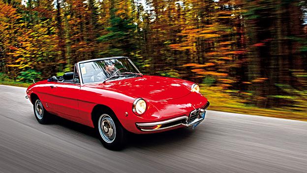 Alfa Romeo Giulia Spider Oldtimer Gebrauchtwagen 1966 Test