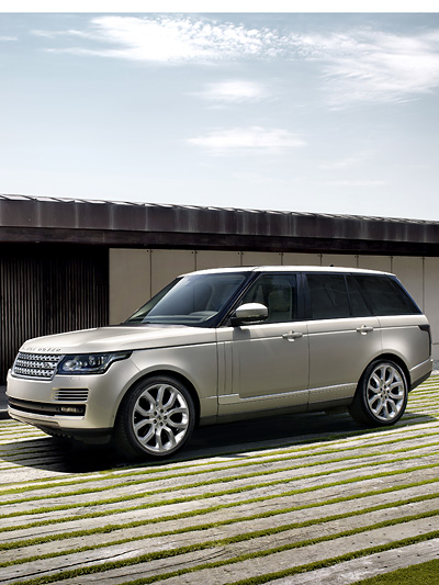 Land Rover Range Rover Paris Messe