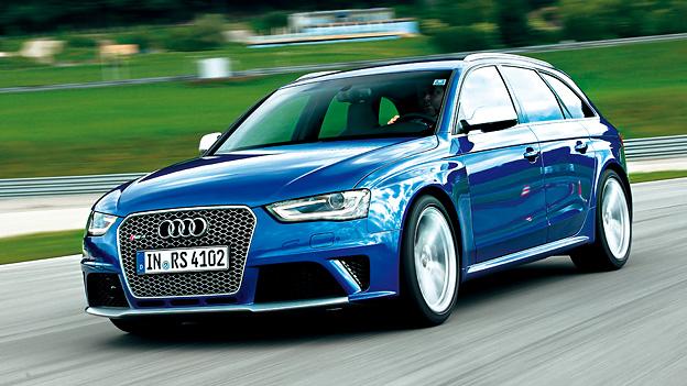 Audi RS4 Avant Kombi V8 Test