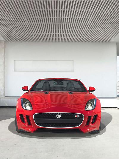 Jaguar F-Type Messe Paris 2012 Roadster