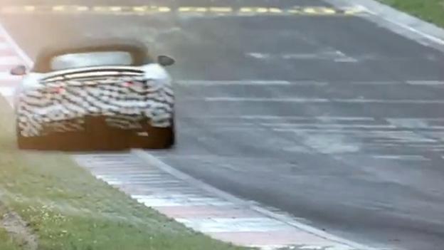 Jaguar F-Type Testdrive Testfahrt Video Rennstrecke