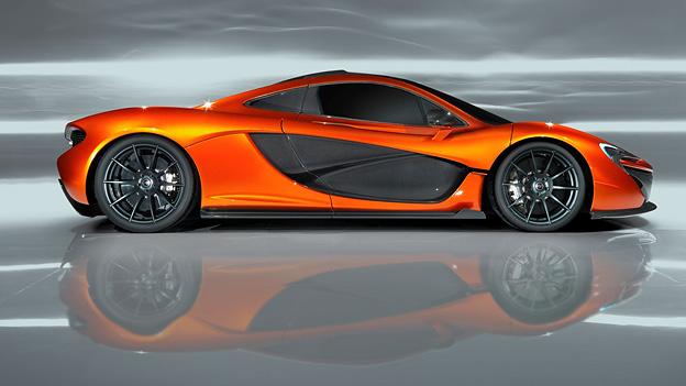 McLaren P1 Paris 2012 900 PS Supersport MP4-12c