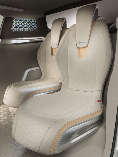 Nissan Terra Concept Autosalon PAris 2012 Brennstoffzelle SUV