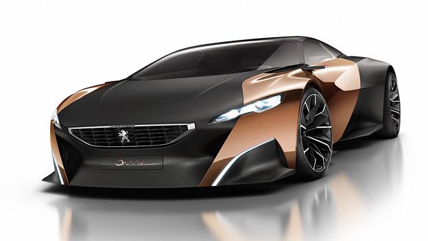 Peugeot Onyx Studie Paris Autosalon Messe